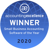 2020 Accounting Excellence Awards, Best Small Business Accounting Software