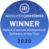 2020 Accounting Excellence Awards, Best Data & Expense Management Software