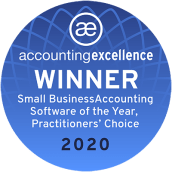 2020 Accounting Excellence Awards, Best Small Business Accounting Software: Practitioners' Choice