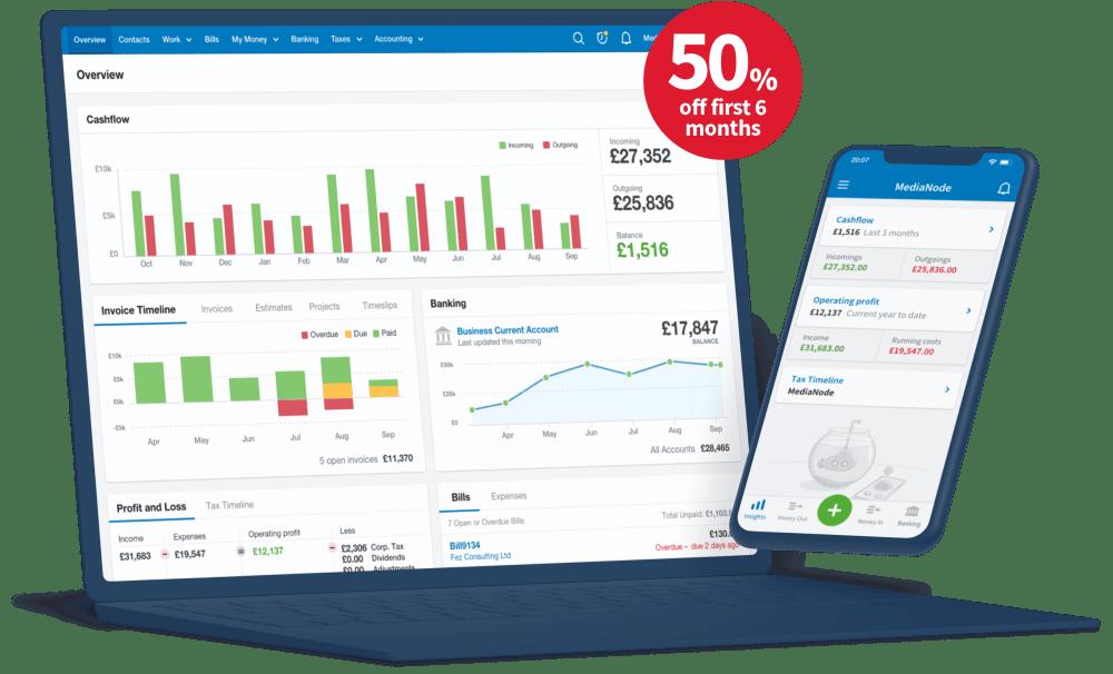 FreeAgent desktop and mobile apps