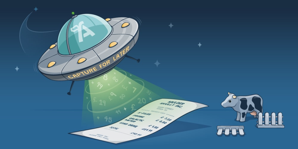 Auto Extract: receipt capture that's out of this world