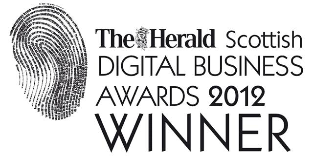 Scottish Digital Business Awards 2012