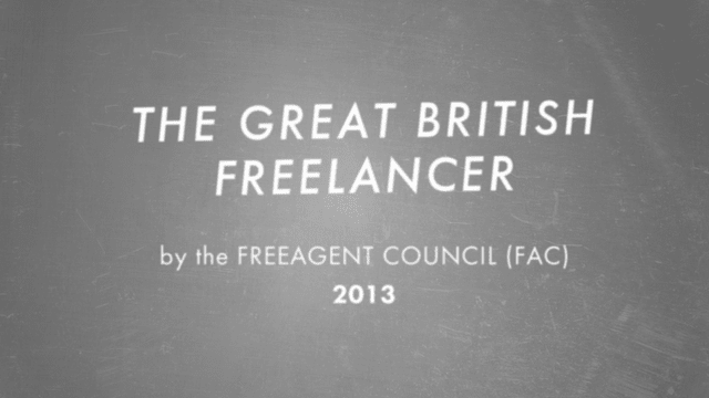 Image from Great British Freelancer video