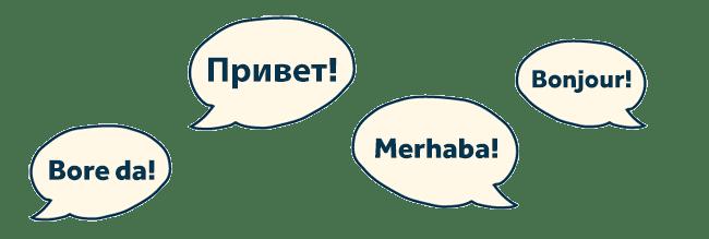 New languages in FreeAgent