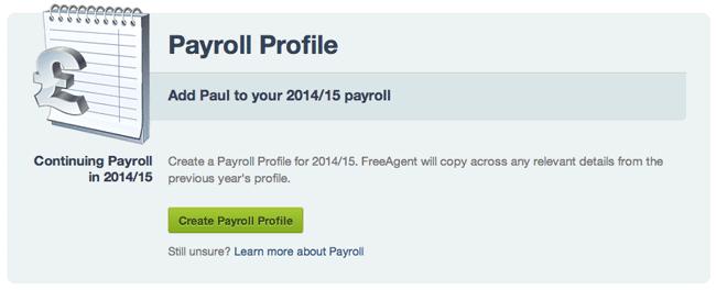 Payroll Profiles