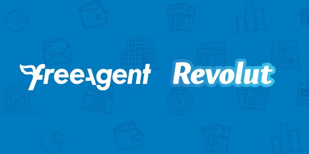 FreeAgent and Revolut logos