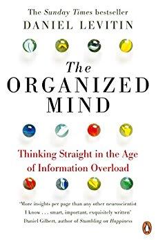 Image of Daniel Levitin book the organised mind