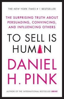 Picture of Dan Pink To sell is Human Book
