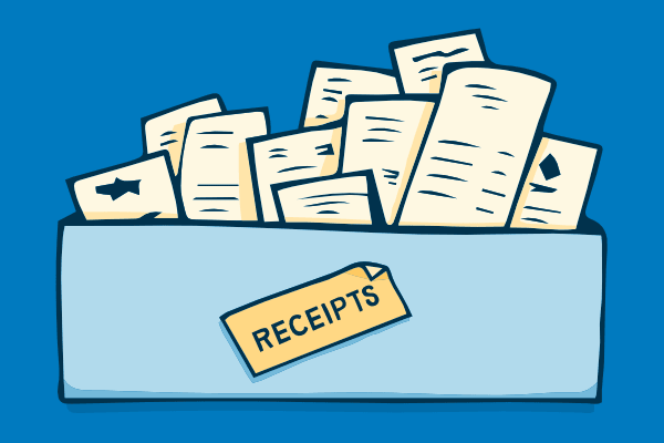 You should rescue that receipt from your wallet