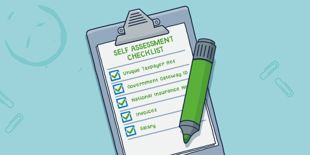 Self Assessment 2017/18 checklist