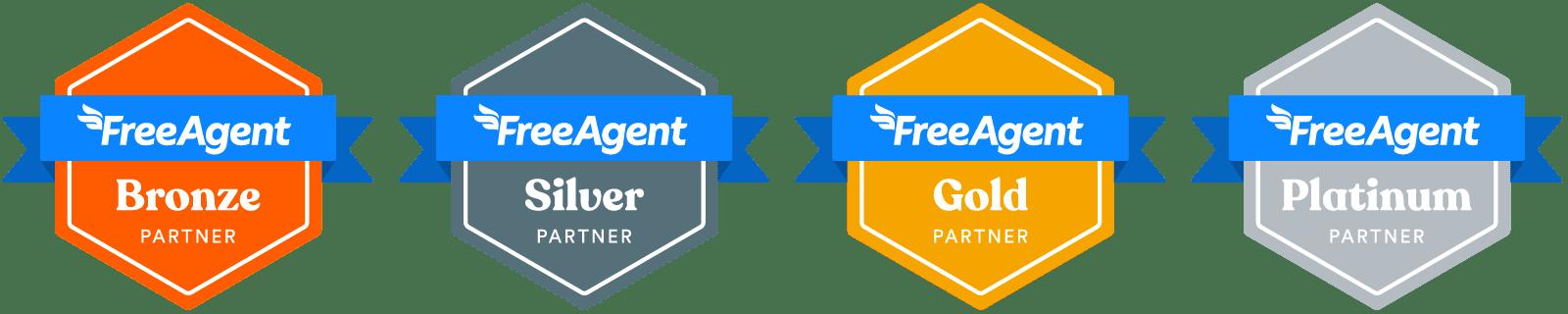 Partner Programme partner level badges