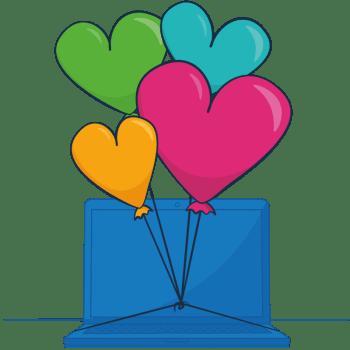 heart balloons, software you'll love